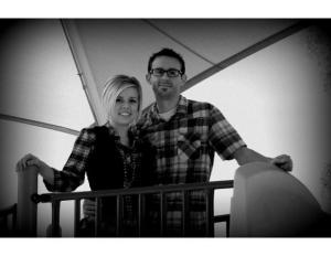 Matt and Courtney, Feb 2014